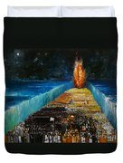 Exodus Duvet Cover by Richard Mcbee