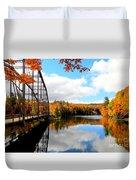 Autumn In Upper Michigan Duvet Cover