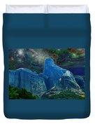 Fantastic Landscape Duvet Cover by Augusta Stylianou