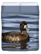 Female Scaup Duvet Cover