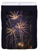 Fireworks Celebration  Duvet Cover