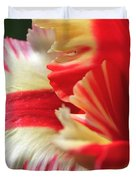Flaming Parrot Tulip Duvet Cover
