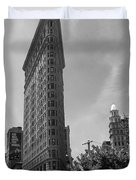 Flatiron Building Manhattan  Duvet Cover