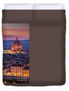 Florence Duomo Duvet Cover