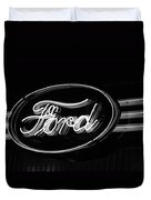 Ford Neon Sign Duvet Cover