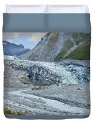 Fox Glacier Duvet Cover