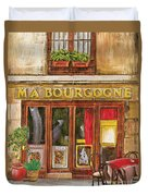 French Storefront 1 Duvet Cover by Debbie DeWitt