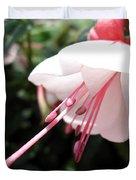 Fuchsia Named Liebelei Duvet Cover