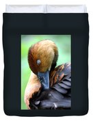 Fulvous Whistling Duck Duvet Cover