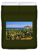 Genoveses Beach Duvet Cover