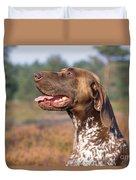 German Short-haired Pointer Dog Duvet Cover