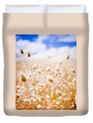 Golden Field Duvet Cover
