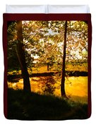 Golden Pond 3 Duvet Cover