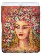 Good Fortune Goddess Duvet Cover