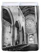 Gothic Monastery Duvet Cover