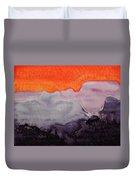 Grand Canyon Original Painting Duvet Cover