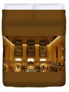 Grand Central Station Duvet Cover by Dan Sproul