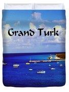 Grand Turk Duvet Cover