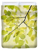 Green Foliage Series Duvet Cover