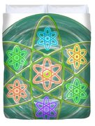 Green Revolution Chakra Mandala Art Yoga Meditation Tools Navinjoshi  Rights Managed Images Graphic  Duvet Cover