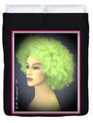 Green Velvet Duvet Cover