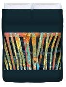 Grilled Duvet Cover