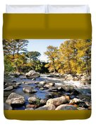 Guadalupe River  Duvet Cover