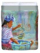 Guatemala Impression Iv Duvet Cover