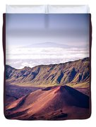 Haleakala Sunrise On The Summit Maui Hawaii - Kalahaku Overlook Duvet Cover