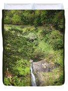 Hana Waterfall Duvet Cover by Jenna Szerlag