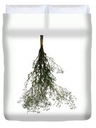 Hanging Dried Flowers Bunch Duvet Cover