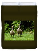 2 Hawaiian Nene Geese Duvet Cover