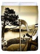 High Fashion Harp Duvet Cover
