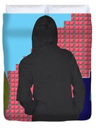 Hoodie Gang Graffiti Fashion Background Designs  And Color Tones N Color Shades Available For Downlo Duvet Cover