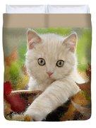 I Love Kittens Duvet Cover