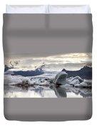iceland Jokulsarlon Duvet Cover