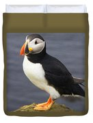 Iceland Puffin Duvet Cover