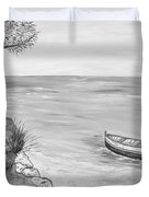 Il Pescatore Solitario Duvet Cover