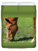 In Green Pasture Duvet Cover