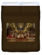 Inside St Patricks Cathedral New York City Duvet Cover
