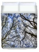 Into The Trees Duvet Cover