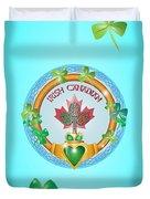 Irish Canadian Duvet Cover