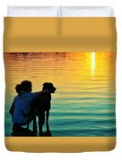 Island Duvet Cover by Laura Fasulo