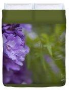 Jacaranda Mimosifolia Makawao Maui Hawaii Duvet Cover