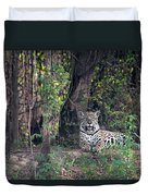 Jaguar Panthera Onca, Pantanal Duvet Cover