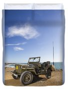Jeep Willys Duvet Cover