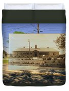 Josephine F. Wilbur School In Little Compton Rhode Island Duvet Cover