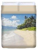 Kawililipoa Beach Kihei Maui Hawaii Duvet Cover