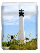 Key Biscayne Lighthouse Duvet Cover