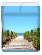 Key West Beach Duvet Cover